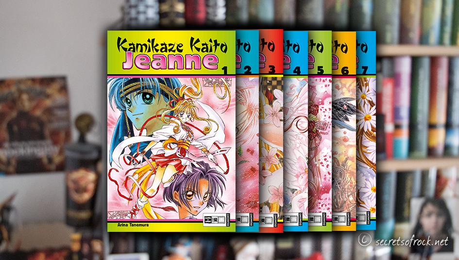 Arina Tanemura Kamikaze Kaito Jeanne Reihe