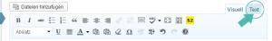 [Wordpress] HTML-Ansicht