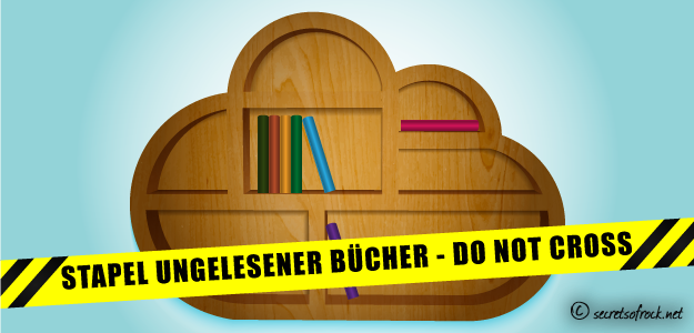 Stapel ungelesener Bücher
