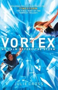 """Julie Cross: """"Vortex (Tempest #2)"""""""