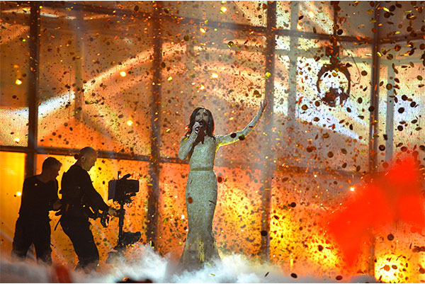 Conchita Wurst ESC 2014 Winner Performance