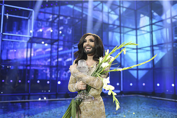 Conchita Wurst ESC 2014 Winner