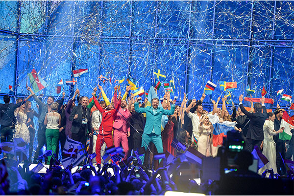 Winner first semi final esc 2014