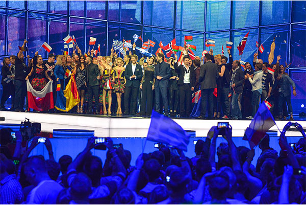 Winner second semi final esc 2014 credit Andres Putting (EBU)