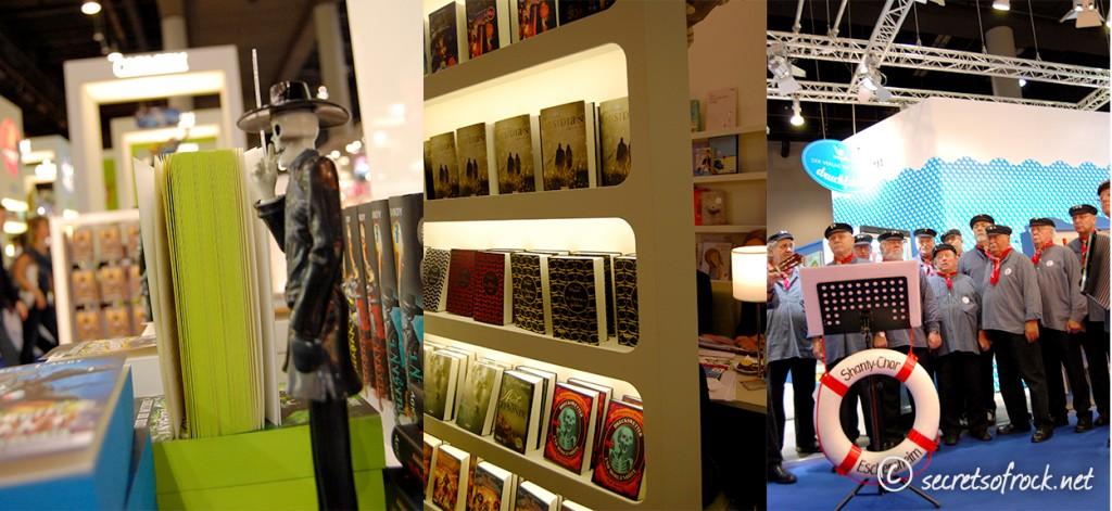 Eindrücke von verschiedenen Verlagsstanden Loewe Carlsen und Magellan