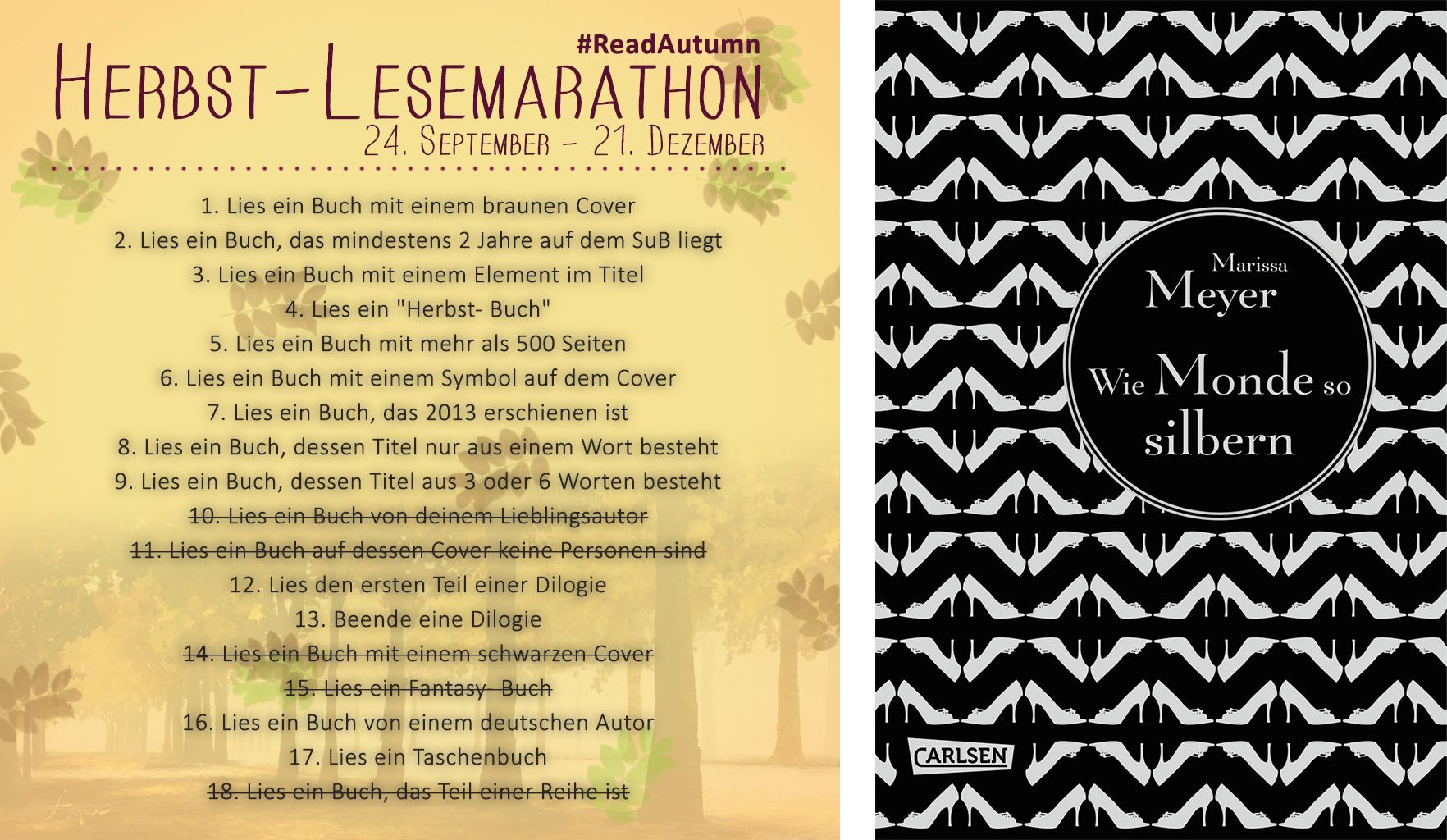 Herbst-Lesemarathon Update #1 FB