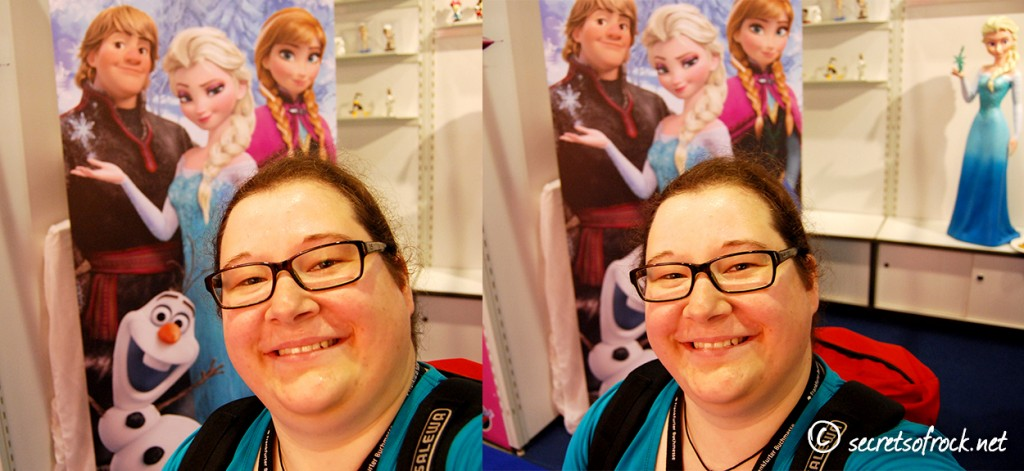 Selfie mit Frozen Aufsteller