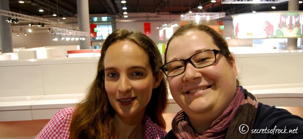 Selfie mit Jennifer Benkau