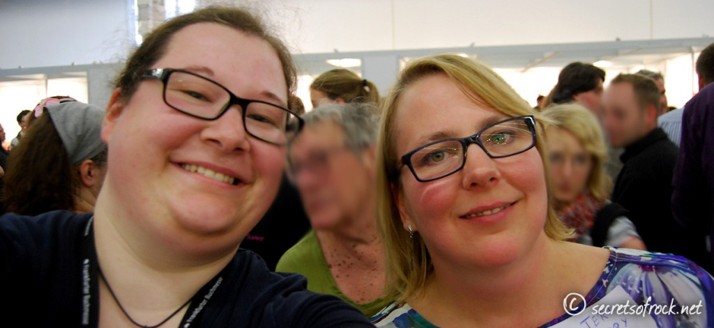 Selfie mit Teri Terry beim Lovelybooks-Treffen