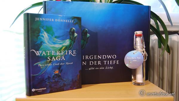 Mystisch-Fantastische Flaschenpost aus den Tiefen des Meeres