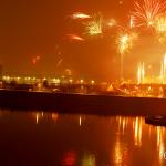 Feuerwerk Main-Brücke 2015