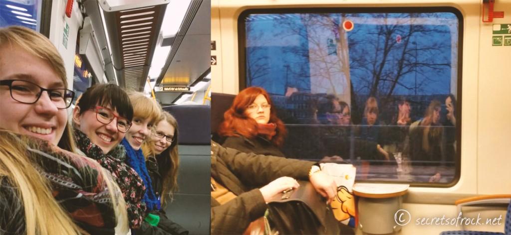 Selfieversuch im Zug