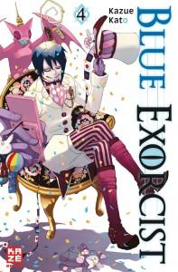 "Kazue Kato: ""Blue Exorcist 04"""