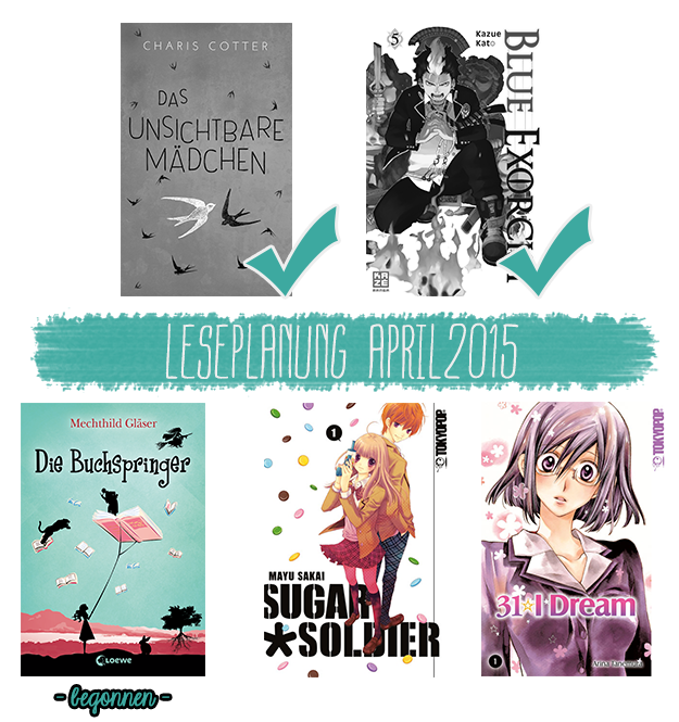 Leseplanung April 2015