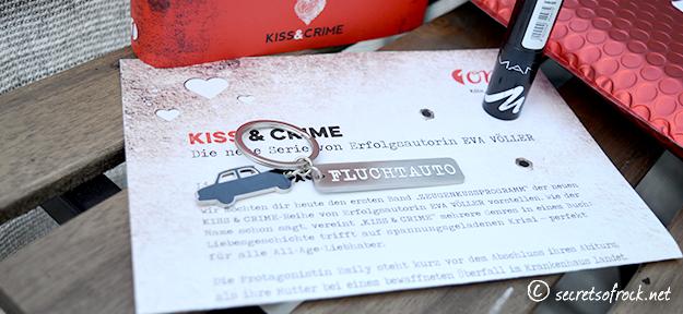 Bloggeraktion: Brief, Fluchtauto-Anhänger und Lippenstift