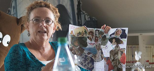 Beatrix Gurian erklaert die Ideeentwicklung