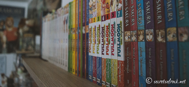 Das neue Regal voller Manga - erster Versuch