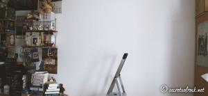 Die leere Wand