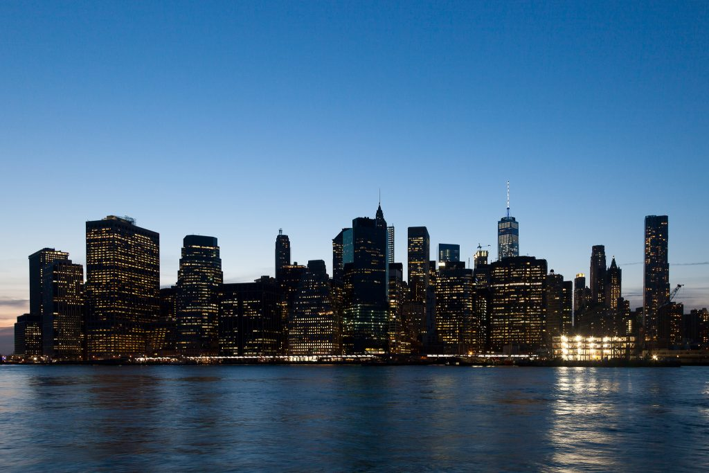 New York Skyline by Guido Barberis